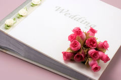 Wedding Photo Album Royalty Free Stock Images