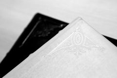 Wedding photo albums Royalty Free Stock Images