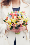 Wedding photo. Wedding details/ sweet love flowers Royalty Free Stock Images