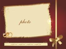 Wedding photo frame Royalty Free Stock Image