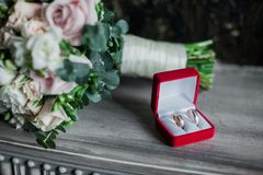 Wedding photo Stock Photography