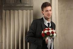 Wedding photo session in the Studio Stock Photos