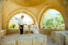 Wedding photo shoot Stock Photography