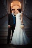 Wedding photography beautiful couple Royalty Free Stock Images