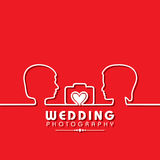 Wedding Photography Concept Stock Photo
