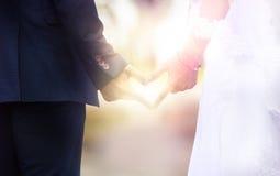 Wedding Photography Husband and wife, newlyweds stock image