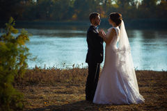 Wedding photography is very beautiful couple Royalty Free Stock Photography