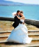 Wedding Photos Bride Groom Royalty Free Stock Photography