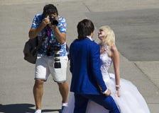 Wedding Photoshoot Stock Photography
