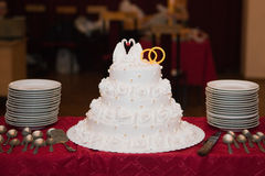 Wedding pie Royalty Free Stock Photo