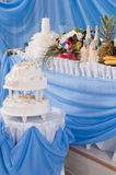 Wedding Pie. Royalty Free Stock Photography
