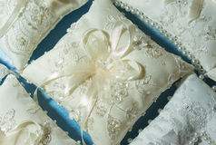 Wedding pillow Stock Photos