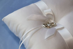 Wedding Pillow Royalty Free Stock Photo