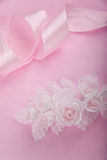 Wedding pink background Stock Photos