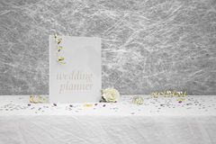 Wedding planner book Stock Photos
