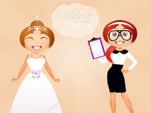 Wedding planner Royalty Free Stock Photo