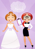 Wedding planner Royalty Free Stock Photos