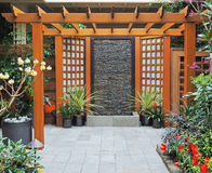 Wedding portal Stock Photo
