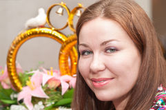 Wedding portrait Royalty Free Stock Image