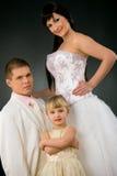 Wedding portrait Stock Image