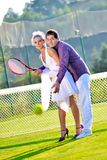 Wedding portraits Stock Photography
