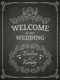 Wedding Poster Royalty Free Stock Photo