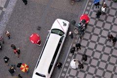 Wedding in Prague royalty free stock image