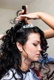 Wedding prepararions Stock Photos
