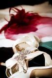 Wedding preparation Stock Image