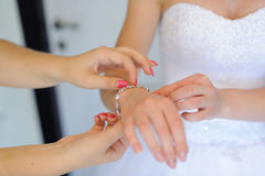 Wedding Preparation Stock Images