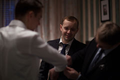 Wedding preparation Stock Photo
