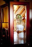 Wedding preparations Royalty Free Stock Photos