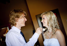 Wedding preparations Stock Photography