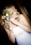 Wedding preparations Stock Images