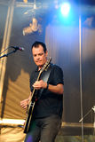 The Wedding Present band performs at Arc de Triomf for free Stock Photos