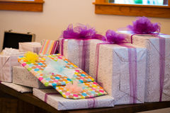 Wedding Presents Royalty Free Stock Image