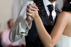Wedding primeiramente a dança Fotografia de Stock