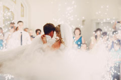 Wedding primero danza imagen de archivo libre de regalías