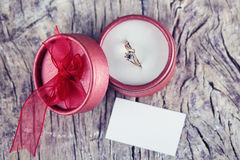 Wedding proposal Royalty Free Stock Photography