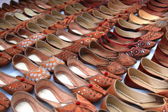 Wedding punjabi shoes Royalty Free Stock Images