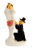 Wedding puppets Royalty Free Stock Photo