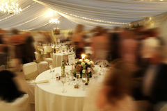 Wedding reception Royalty Free Stock Photo