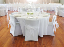 Wedding reception. Royalty Free Stock Image