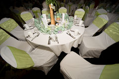 Wedding reception Stock Photography