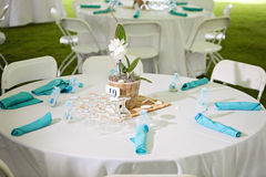 Wedding Reception Area Royalty Free Stock Images