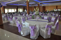 Wedding reception area Royalty Free Stock Image