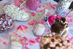 Wedding Reception Candy Table. Royalty Free Stock Photo