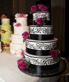 Wedding Reception Celebration Cakes Stock Image