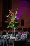 Wedding reception centerpiece Royalty Free Stock Images
