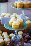 Wedding Reception Cupcakes Stock Photos